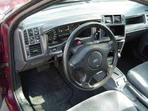 Устраняем стук в руле Форд Сиерра
