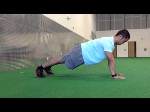 Prone Plank Shoulder Touch