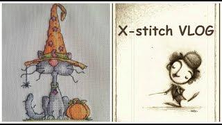 getlinkyoutube.com-X-stitch VLOG о том что сверху, что с низу или зачем замораживать Тоторо!