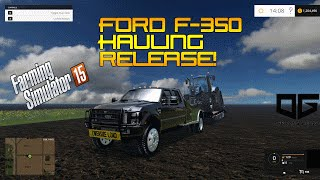 getlinkyoutube.com-Farming Simulator 2015- Offspring Gaming F-350 Hot Shot Truck