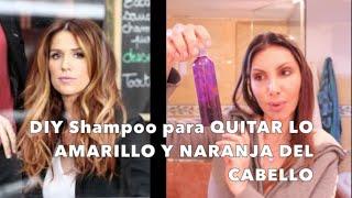 getlinkyoutube.com-SHAMPOO MATIZADOR para Quitar lo Naranja y Amarillo del Cabello!!!