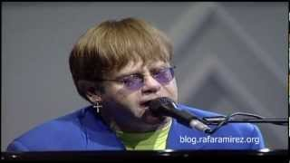 getlinkyoutube.com-Live like horses. Elton John, Pavarotti & Friends (Live HD)