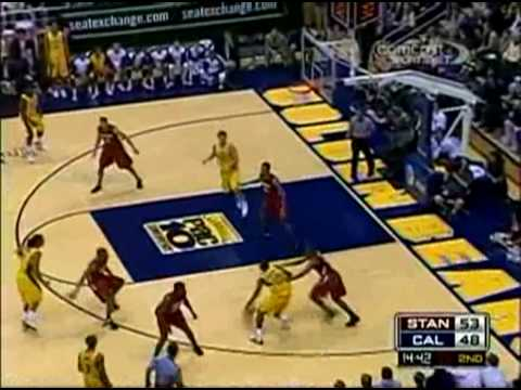 cal vs stanford mens basketball 2009  (Greatest comeback ever)