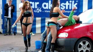 getlinkyoutube.com-Sexy Car Wash @ Tage des Donners 2011 Teil 3