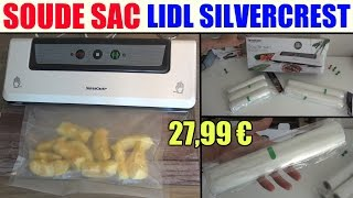 getlinkyoutube.com-soude sac lidl silvercrest sfs 110 appareil de mise sous vide vacuum sealer folienschweissgerät