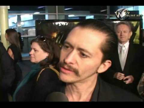 Clifton Collins Jr  Interview at Boondock Saints II : All Saints Day Movie Premiere