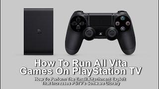 getlinkyoutube.com-How To Exploit PlayStation TV To Run All Vita Games
