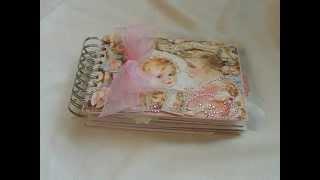 getlinkyoutube.com-Girls Vellum Envelope Mini Album