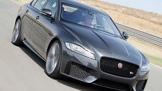 getlinkyoutube.com-Erste Fahrt im neuen Jaguar XF (2015)