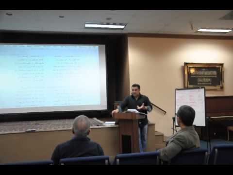 Rumi's Masnavi Class - March 5th, 2014 - Part 3 of 4