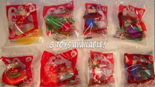getlinkyoutube.com-Alvin and the Chipmunks Chip-Wrecked 8 McDonalds Happy Meal Toy Review 2011