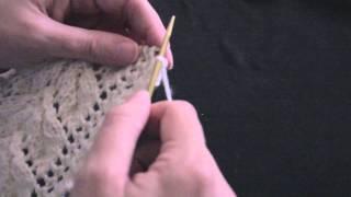 getlinkyoutube.com-Leaf Lace Scarf