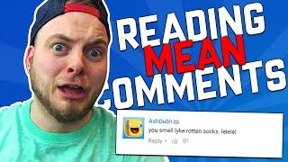 getlinkyoutube.com-READING MEAN COMMENTS!