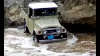 getlinkyoutube.com-قوة جيب شاص قديم Jeep Toyota