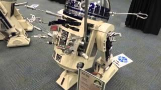 getlinkyoutube.com-R2 Builders Club setting up at Star Wars Celebration Anaheim