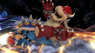 getlinkyoutube.com-Rival Smash / Bowser x Bowser - Super Smash Bros. Wii U