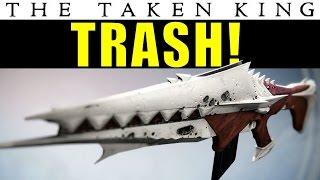 getlinkyoutube.com-Destiny: The Anguish of Drystan is TRASH! | King's Fall Raid Auto Rifle | Taken King