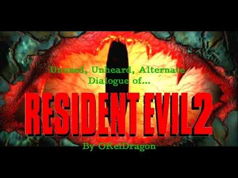Unused, Unheard, and Alternate dialogue of Resident Evil 2