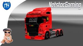 Euro Truck Simulator 2 - ETS 2 Mods Reviews SCANIA TOP By Pedro alvees│NetstocGaming