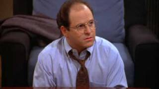 getlinkyoutube.com-Seinfeld - George Costanza ponders about potential jobs