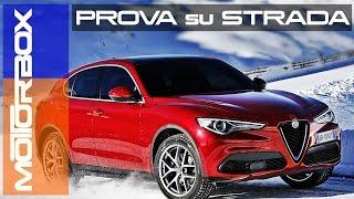 getlinkyoutube.com-Alfa Romeo Stelvio: la prova di MotorBox
