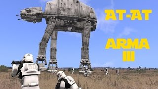 getlinkyoutube.com-ATAT Madness - Star Wars Imperial Walker Arma 3