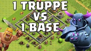 getlinkyoutube.com-1 TRUPPE vs 1 BASE! || CLASH OF CLANS || Let's Play CoC [Deutsch/German HD+]