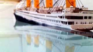 getlinkyoutube.com-Titanic model sinking