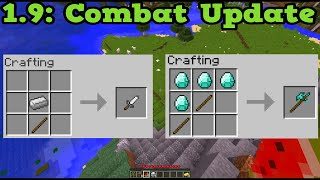 getlinkyoutube.com-Minecraft 1.9 The Combat Update Announced + Love and Hugs Update