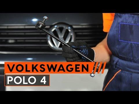 Как да сменим свързваща щанга на VW POLO 4 (ИНСТРУКЦИЯ AUTODOC)