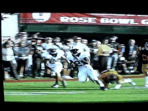 taylor mays big  hit rose bowl 2009