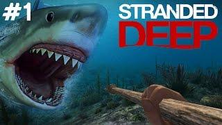 getlinkyoutube.com-Stranded Deep - Köpekbalığı - Bölüm 1