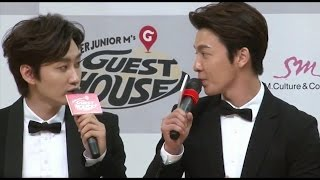 getlinkyoutube.com-[Part 6] 140714 HaeHyuk/EunHae sweet moments - Guest house press conference