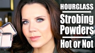 getlinkyoutube.com-HOURGLASS STROBING POWDERS | Hot or Not