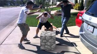Playing With Minecraft Blocks!