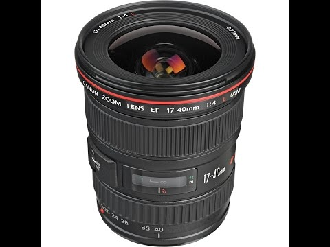 Canon 17-40mm Review