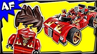 getlinkyoutube.com-KAI's X1 NINJA CHARGER 70727 Lego Ninjago Rebooted Stop Motion Set Review