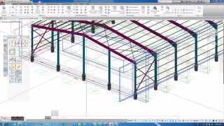 getlinkyoutube.com-Filtering view for flexible working in Autodesk Advance Steel 2016