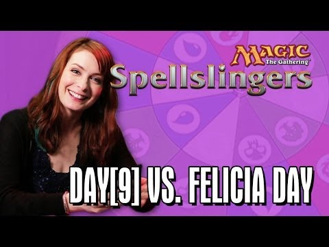 Day[9] Vs. Felicia Day In Magic: The Gathering: Spellslinger