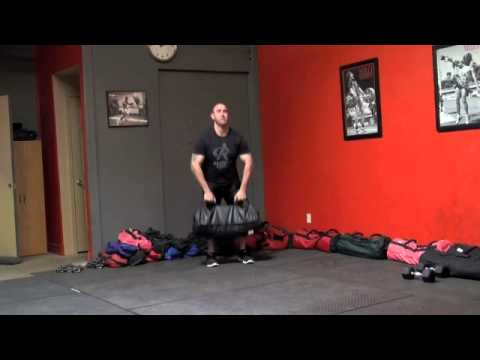 Spartacus Sandbag Training