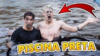 JOGUEI CORANTE PRETO NA PISCINA E OLHA O RESULTADO !!!
