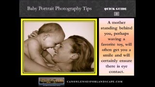 Baby Portrait Photography Tips