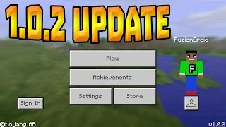 getlinkyoutube.com-NEW MCPE 1.0.2 UPDATE RELEASED!!! - Minecraft Pocket Edition