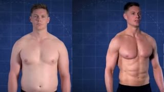 How To Lose Weight | Trainer Gains and Loses 60 POUNDS in 'Fit to Fat to Fit'