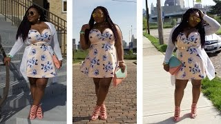 getlinkyoutube.com-MEGA PLUS SIZE COLLABORATION AND GIVEAWAY| OUTFIT & MAKEUP ( CLOSED)