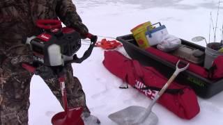 getlinkyoutube.com-Ice Fishing, Strawberry Utah, Jan 23, 2015