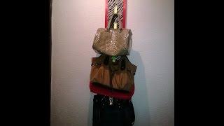 getlinkyoutube.com-DIY colgador de bolsas!!