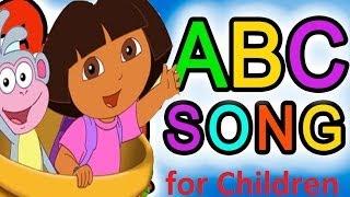 getlinkyoutube.com-ABC Song for Children - Alphabet Dora The Explorer