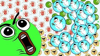 getlinkyoutube.com-Agario Mobile Epic Trolling With Spike Glitch With Premium Evil Eye Skin (Agar.io Funny Moments)