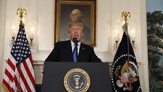 Trump: Nükleer anlaşmanın kusurları giderilmezse anlaşmayı sonlandıracağım